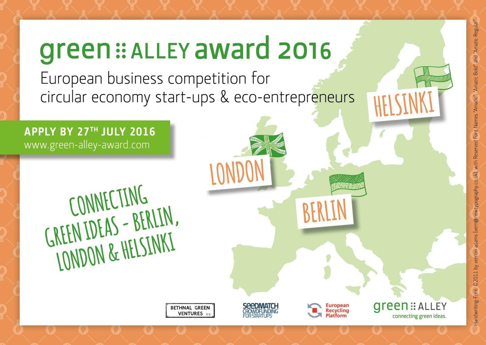 The Green Alley Award
