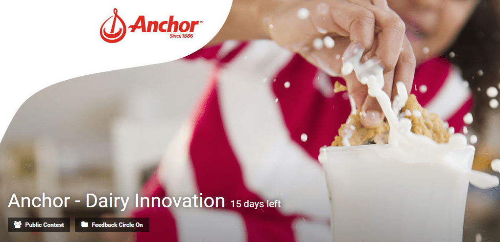 Anchor - Dairy Innovation by Eyeka contest