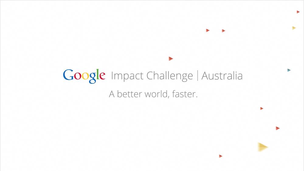 Australia Google Impact Challenge