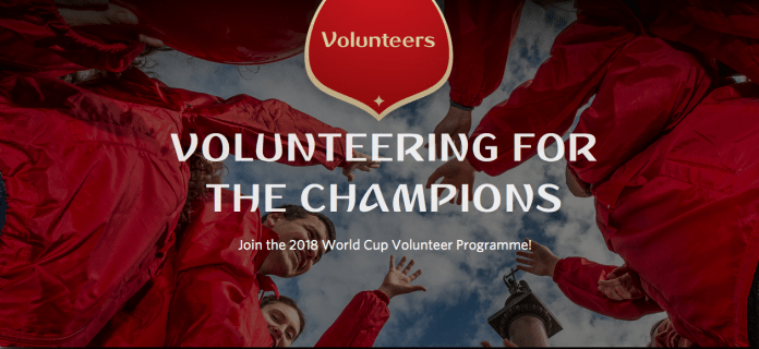 FIFA World Cup Russia Volunteer Programme