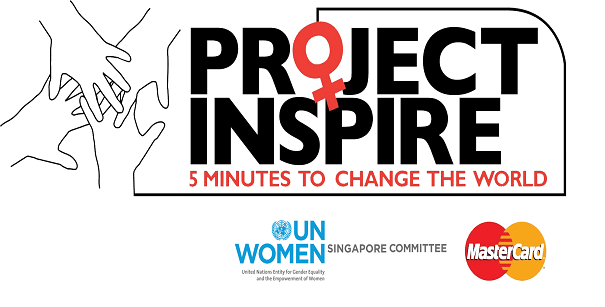 Project Inspire , Win $25,000 and a trip to Singapore by UN & Mastercard