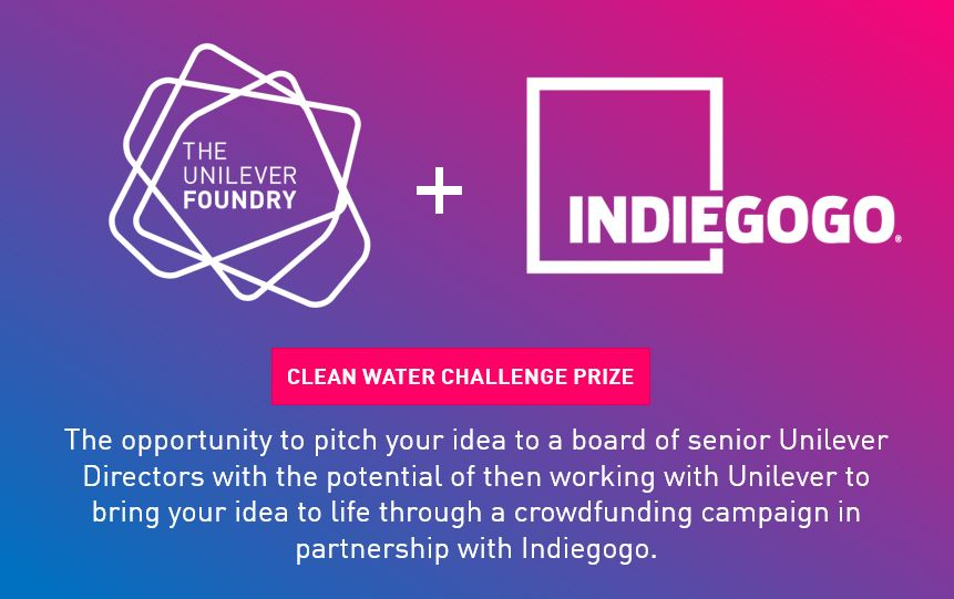 Unilever The Clean Water Challenge innovation challenge
