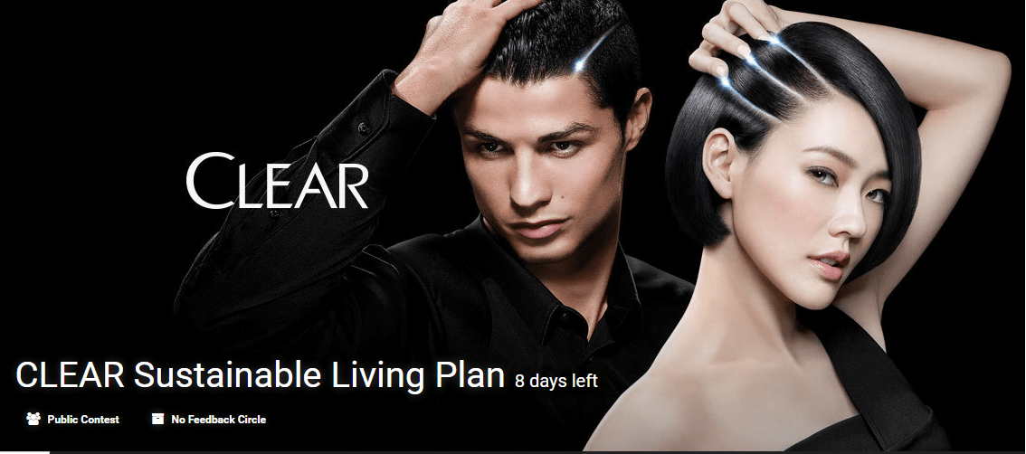 CLEAR Sustainable Living Plan innovation contest by Eyeka