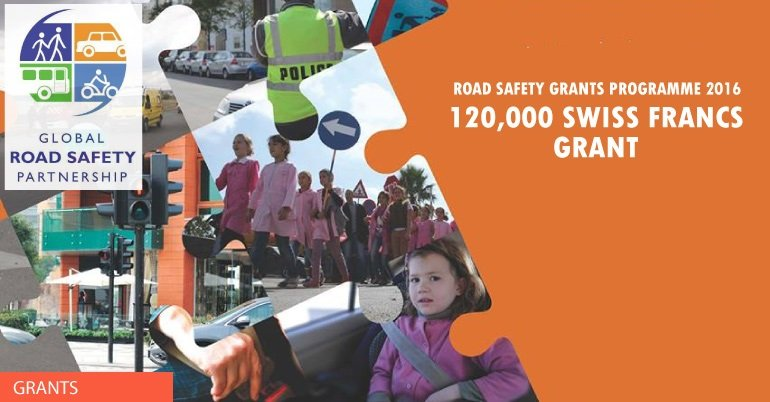 Call for Proposals for Global Road Safety Grant Programme 2016