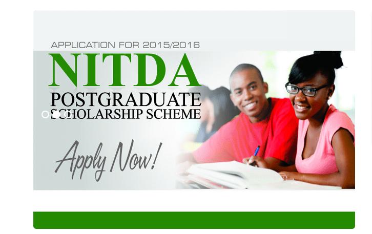NITDA Postgraduate Scholarship Scheme
