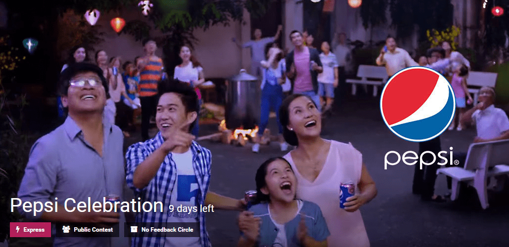 Pepsi Celebration innovation contest