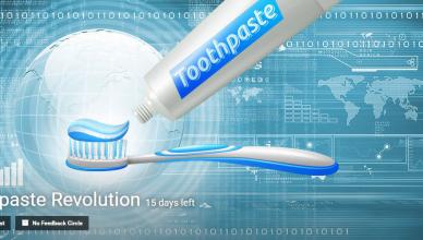 Toothpaste Revolution innovation challenge by Eyeka