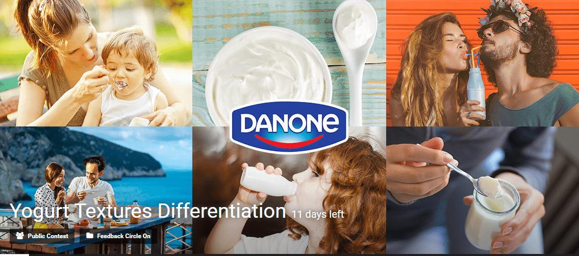 Danone Yogurt Textures Differentiation contest by Eyeka