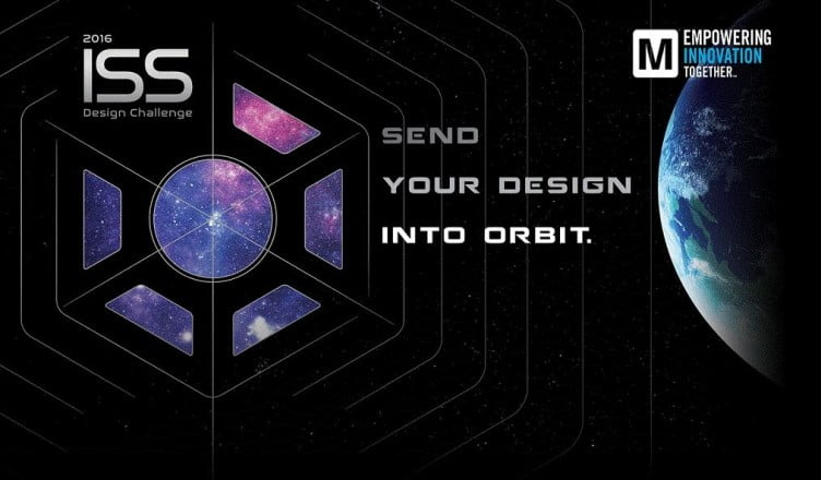 International space station design and print challenge by Mouser