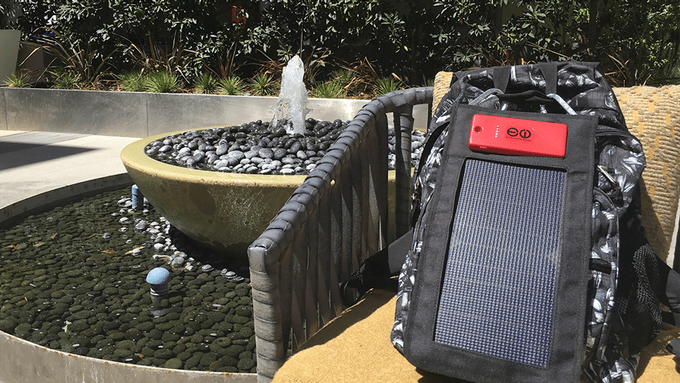 The World's Fastest Solar Charger, Fast power from the sun