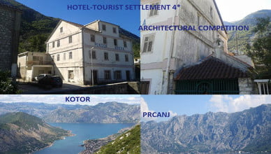 Tourist settlement 4* kotor project competition