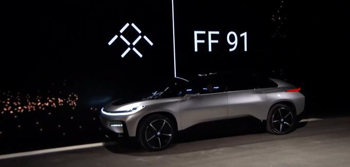 Faraday Future FF91 a revolutionary electric Car