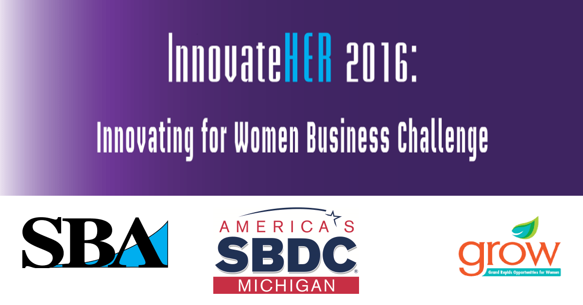 InnovateHER Innovating for Women Business competition