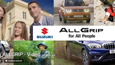 Suzuki ALLGRIP video competition