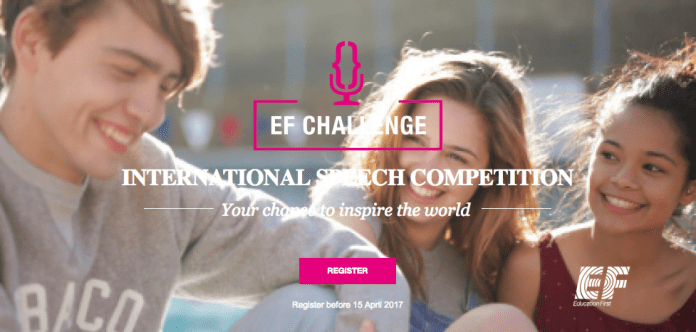 Education First International Speech Competition 2017