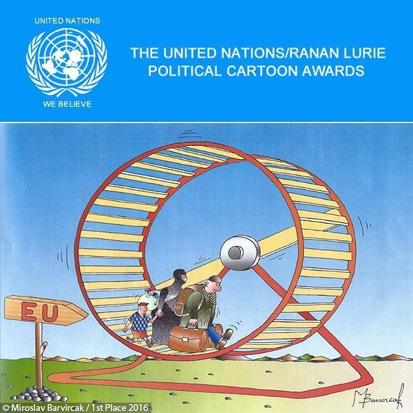 The Ranan Lurie Political Cartoon Awards 2017 by United Nations