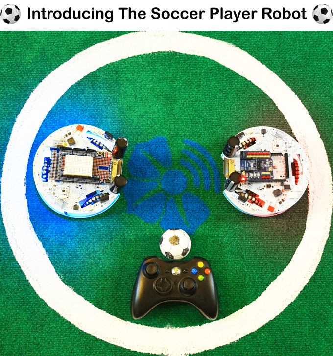 WiSoccero The Soccer-Playing Robot