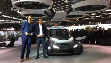 Airbus new drone-car Hybrid