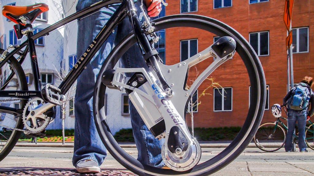 GeoOrbital Wheel for bicycle