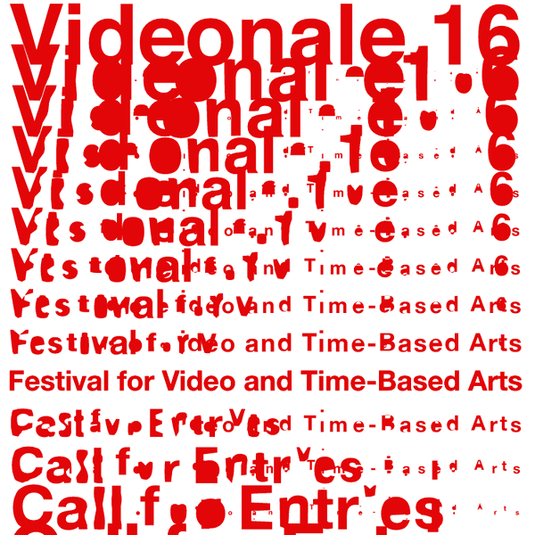 The 16th Videonale - Festival for Video and Time-Based Arts