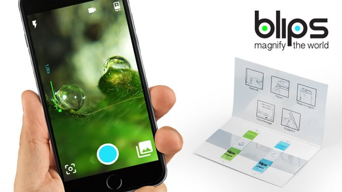 BLIPS Paper-Thin Macro & Micro Lenses For All Smartphones