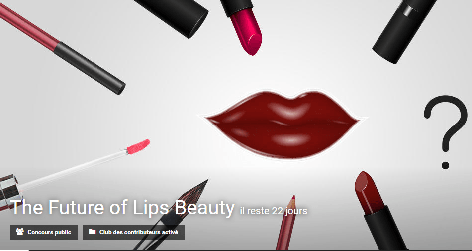 The Future of Lips Beauty innovation contest