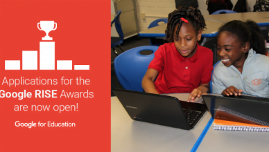 Apply for RISE Awards 2016 sponsored by Google
