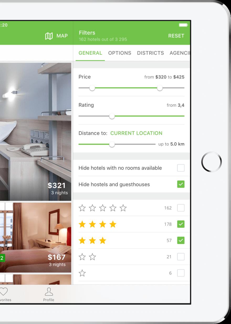 Hotellook app