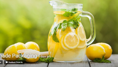 Lemonade Packaging innovation contest by Eyeka