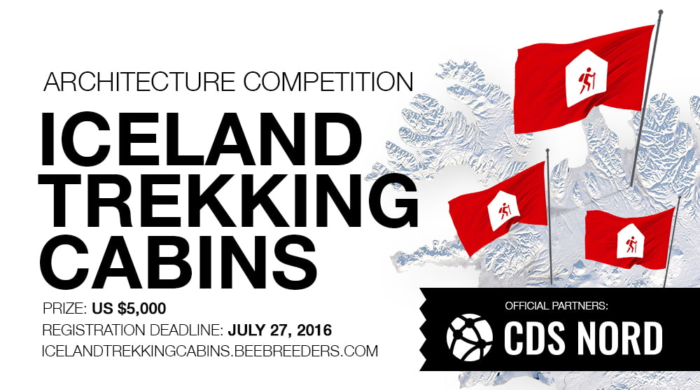 The Iceland Trekking Cabins architecture competition