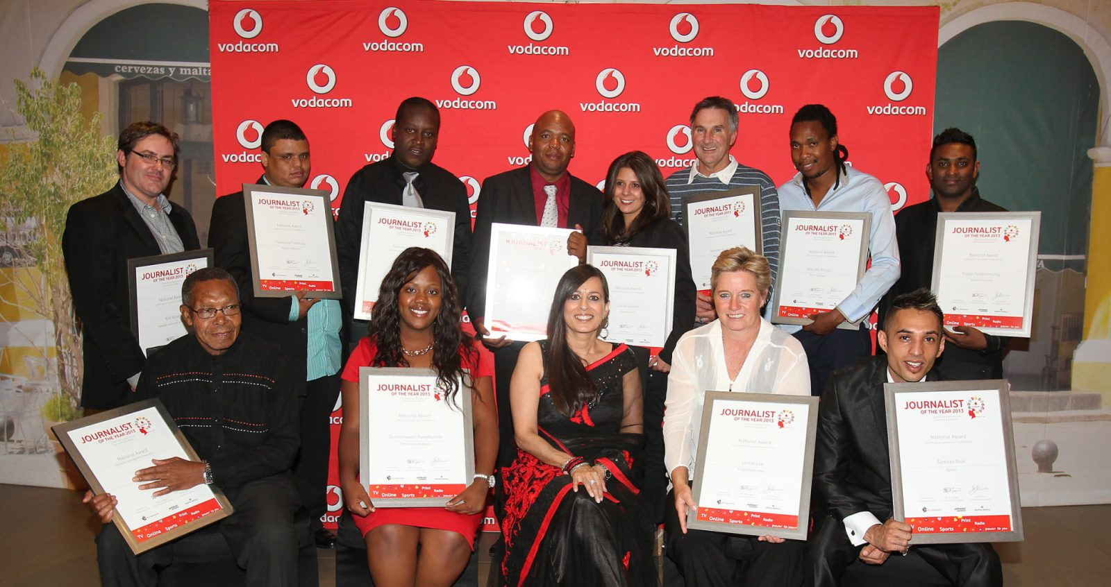 Vodacom Journalist of the Year Award 2016