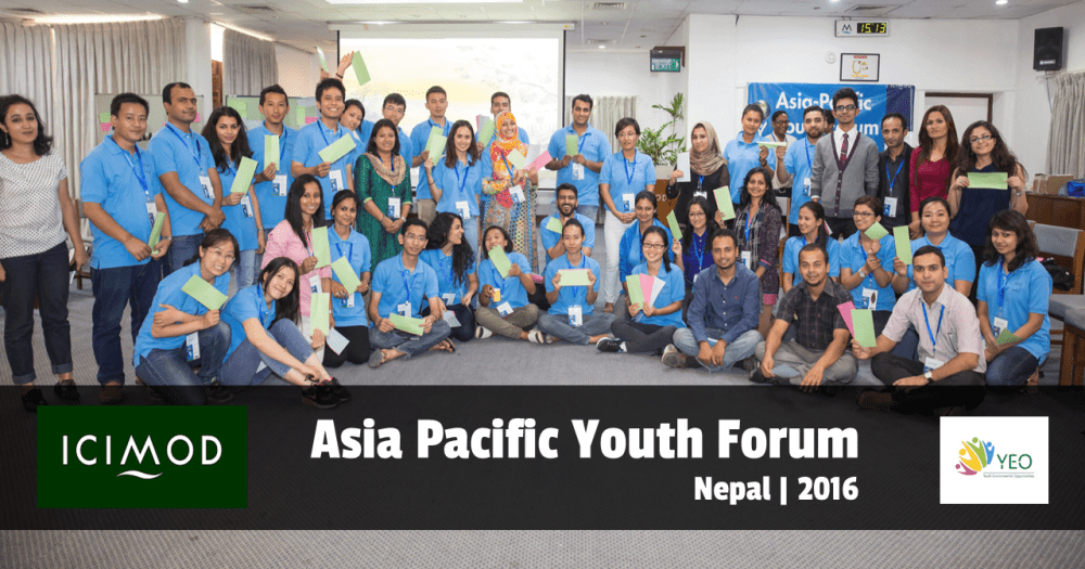 Call for Applications Asia Pacific Youth Forum 2016