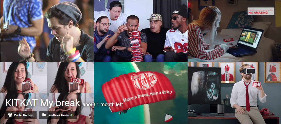 "Celebrate the ""breakers"" with KITKAT innovation challenge"