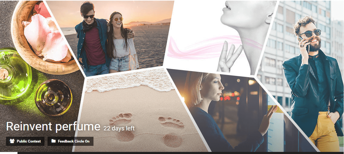 Reinvent perfume innovation contest by Eyeka