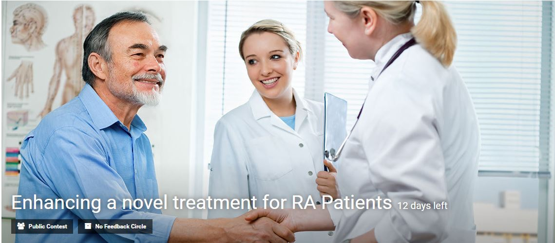 Enhancing a novel treatment for RA Patients by Eyeka