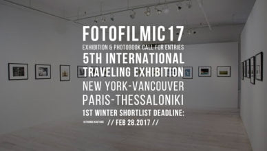 FOTOFILMIC17 International Traveling Exhibition Competition