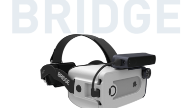 Mixed reality & positionally-tracked VR headset for iPhone