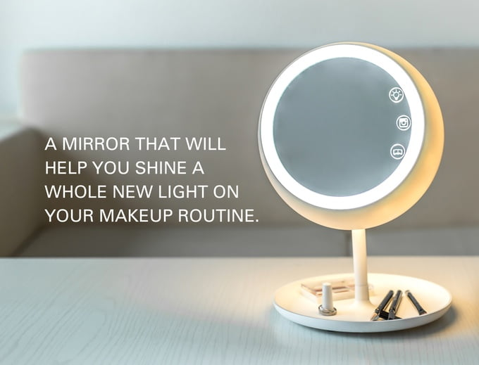 The Smartest Makeup Mirror Ever