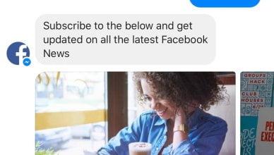 Facebook News Bot