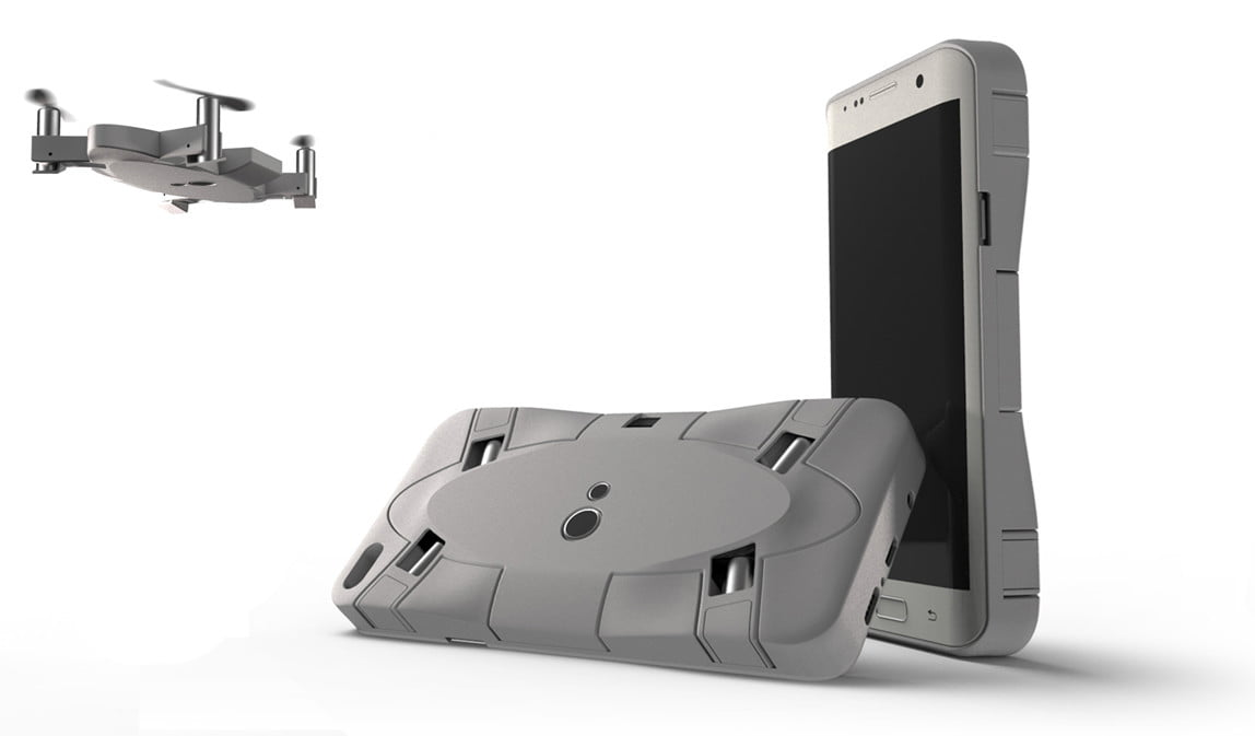 SELFLY Camera The smart, flying, phone case camera