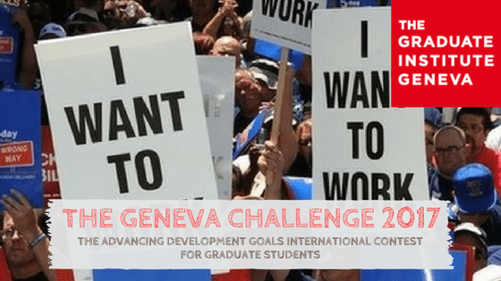 The Geneva International Contest for Graduate Students