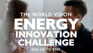 World Vision Energy Innovation Challenge