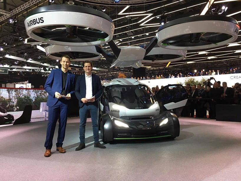 Airbus New Drone Car Hybrid