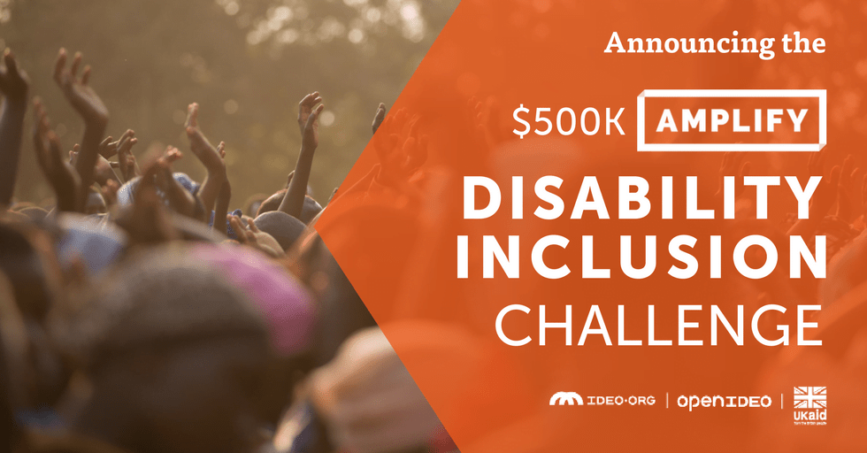 OpenIdeo disability inclusion challenge