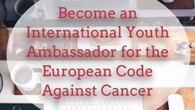 International Youth Ambassador for the European Code