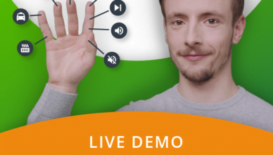 Tapdo turns your hand into a remote control.