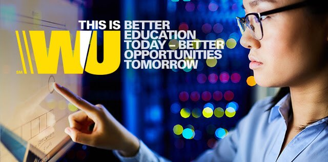 Western Union Foundation Global Scholarship Program 2017