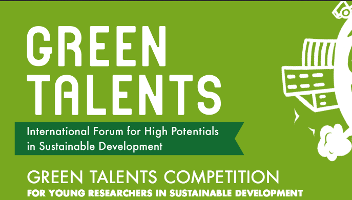 Apply for the Green Talents Competition 2017