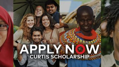 Global Citizen Curtis Scholarship 2017