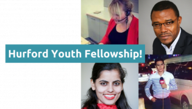 Apply for Hurford Youth Fellows Program
